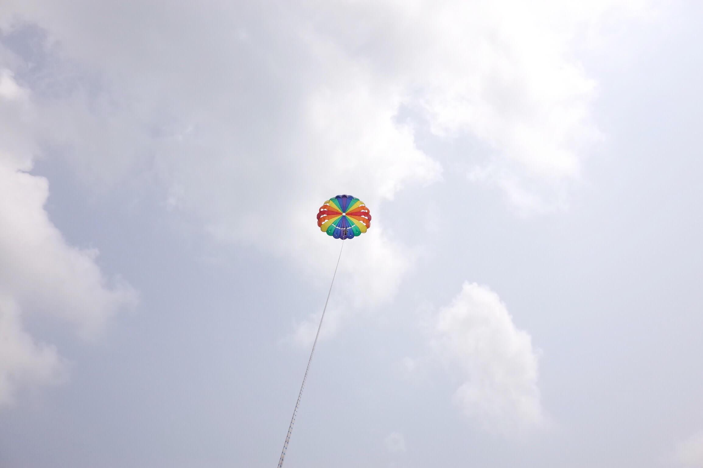 サメット島でパラセーリングが超気持ちいい!おすすめアクティビティで人生初飛行