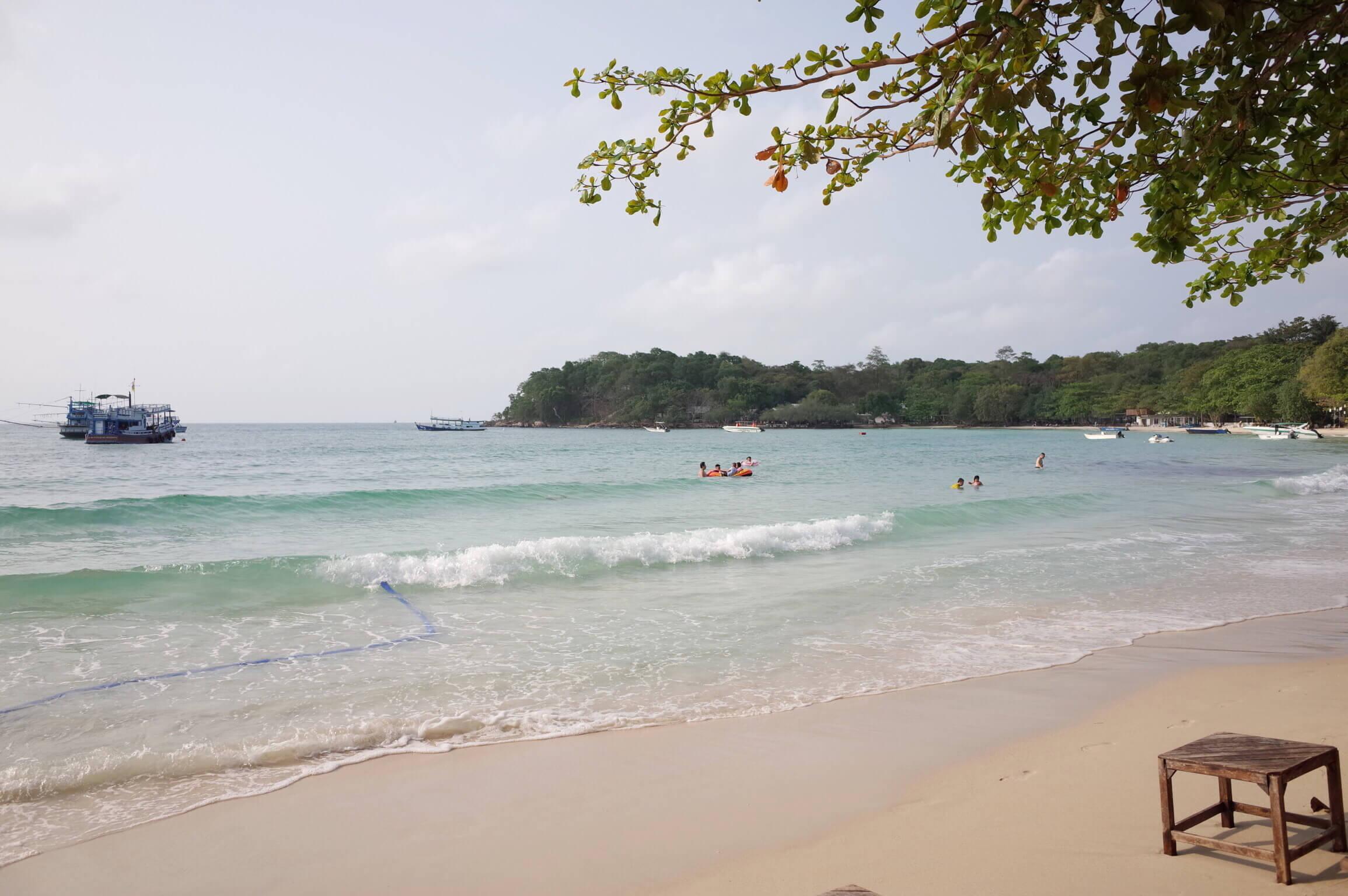 サメット島のホテルはウォンドゥアンビーチ添いがのんびりしていておすすめ!