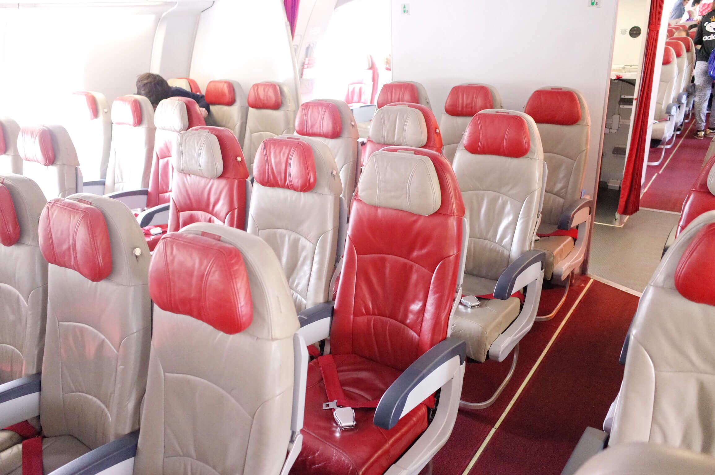 エアアジア XJ601/成田〜バンコク・ドンムアン 機内食は事前予約がおすすめ