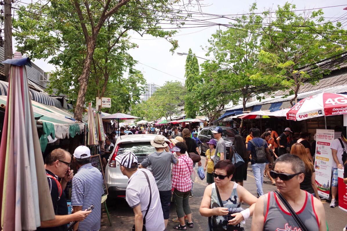 バンコク週末限定「チャトゥチャック・ウィークエンドマーケット」で1日中買い物をエンジョイ