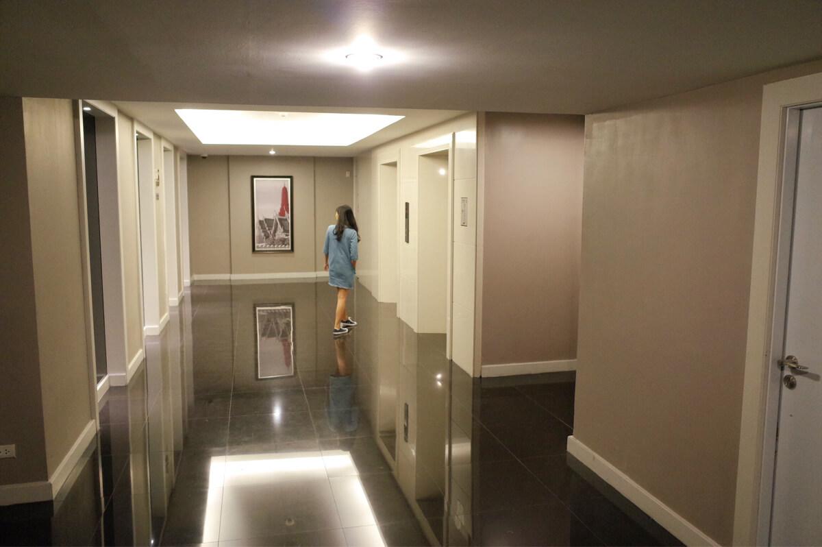 バンコク マンダリンホテル 廊下