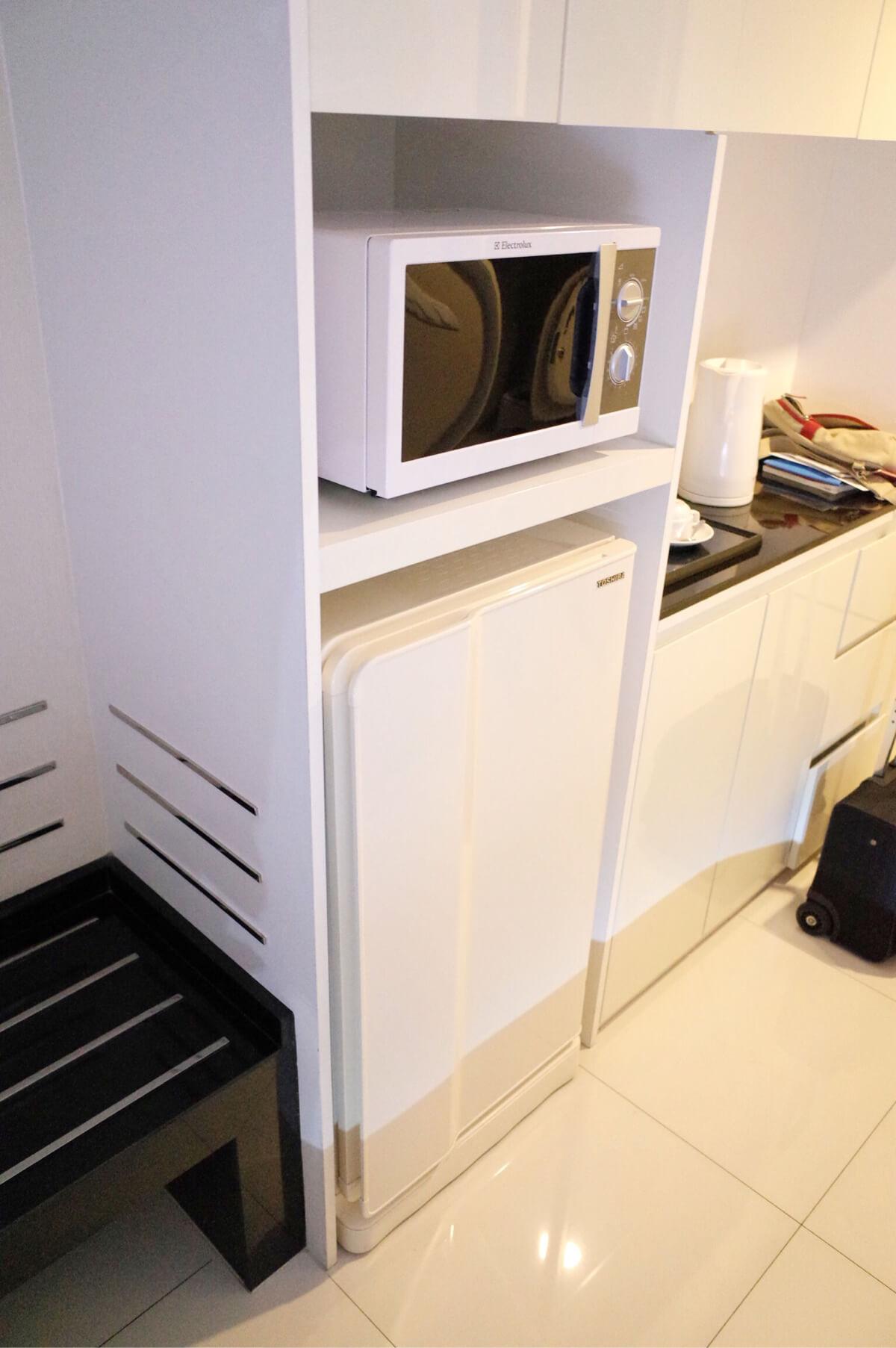 バンコク マンダリンホテル 冷蔵庫 電子レンジ