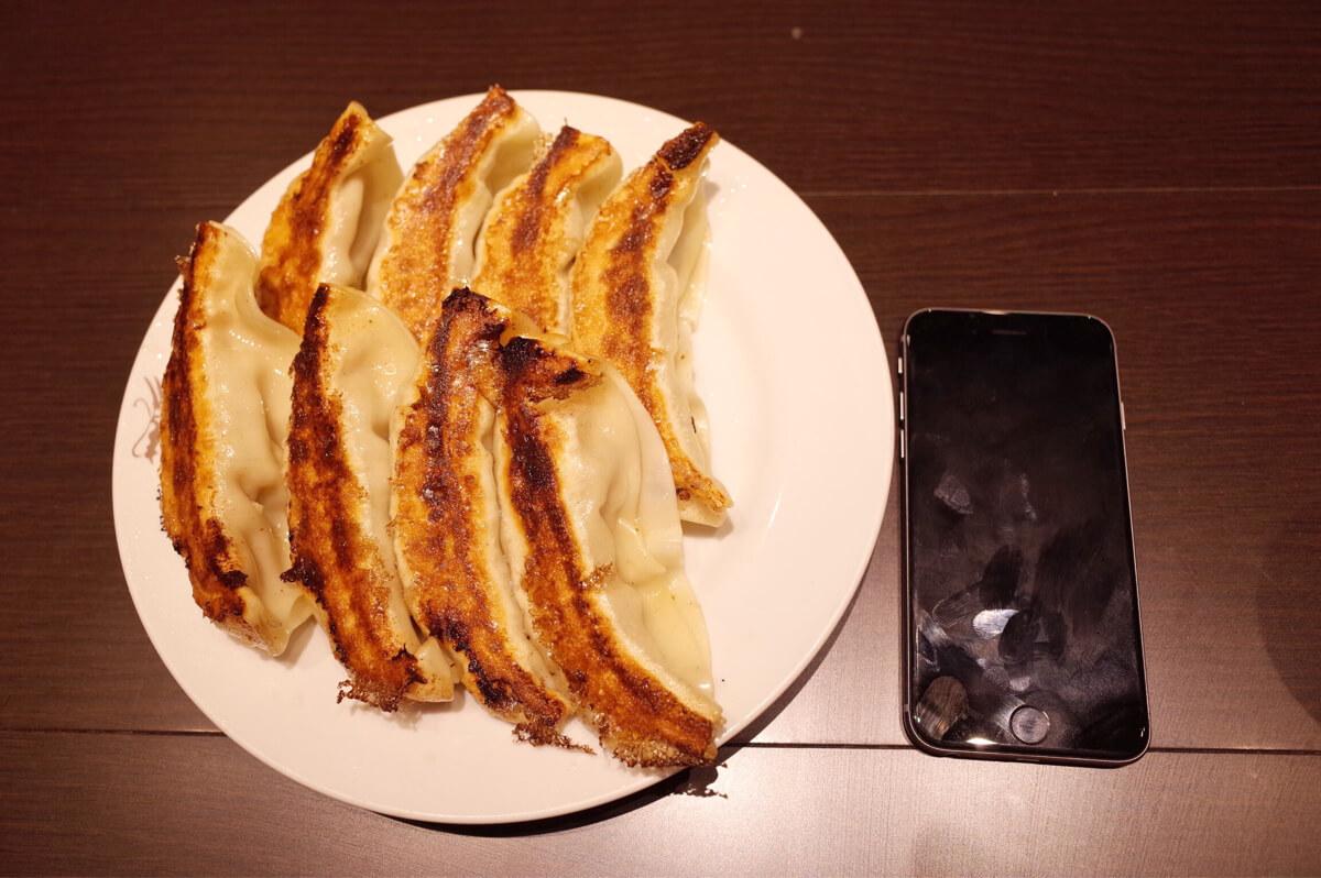銀座天龍 ジャンボ焼き餃子