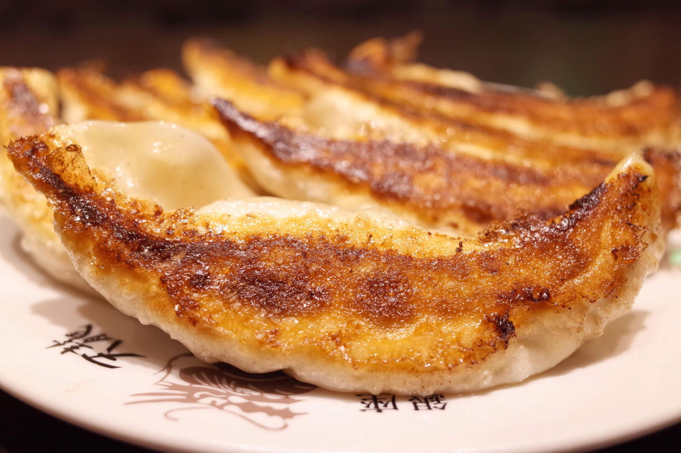 「銀座 天龍」で名物のジャンボ焼き餃子を食らう!ボリューム多くて一人前でお腹いっぱい