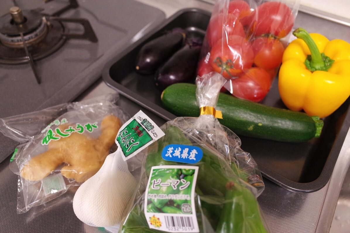 7月旬 野菜
