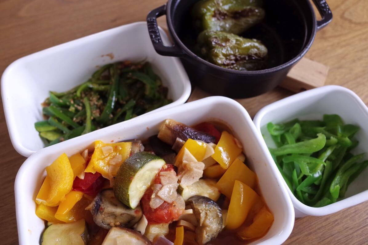 7月が旬の食材 野菜編 〜 夏の食材が勢ぞろい。夏バテにならないようにしっかりと食べましょう!