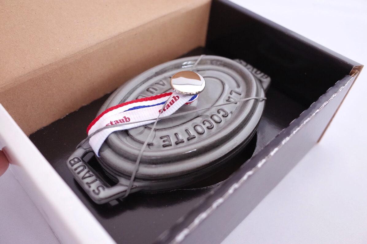ストウブ ピコ・ココット オーバル 11cm(グレー)