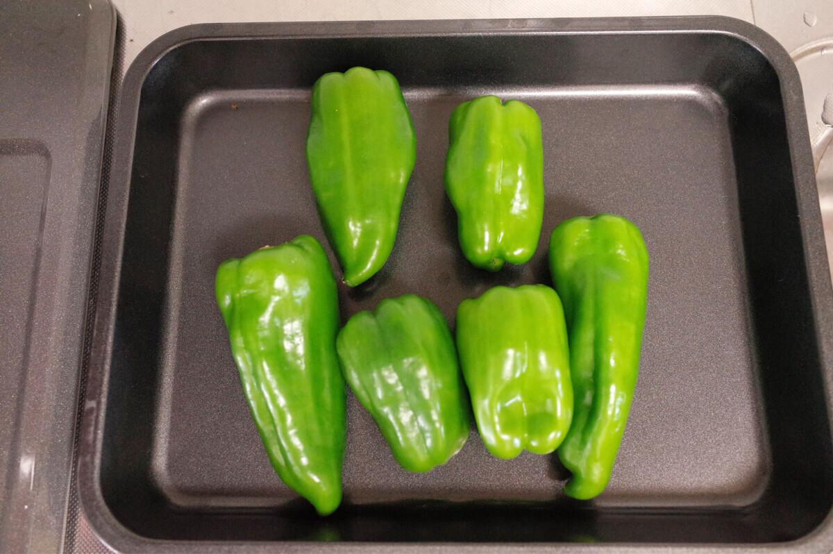 旬のピーマンを買いすぎた!簡単レシピと冷凍保存で無駄なく食べるぞ!
