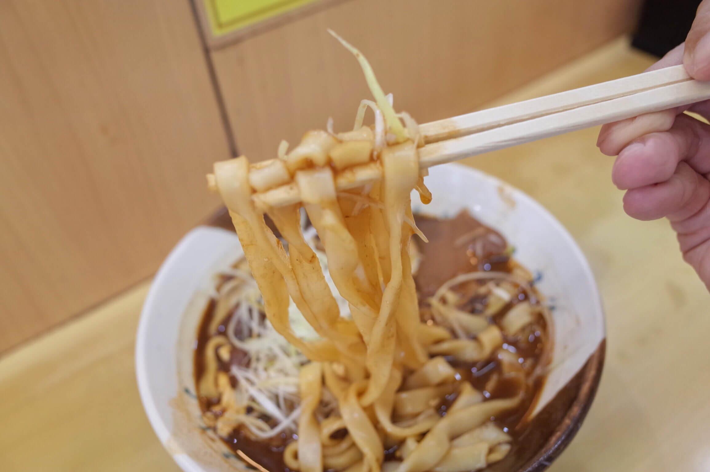 名古屋駅 新幹線ホームできしめん食べるなら『住よし』・『グル麺』へ