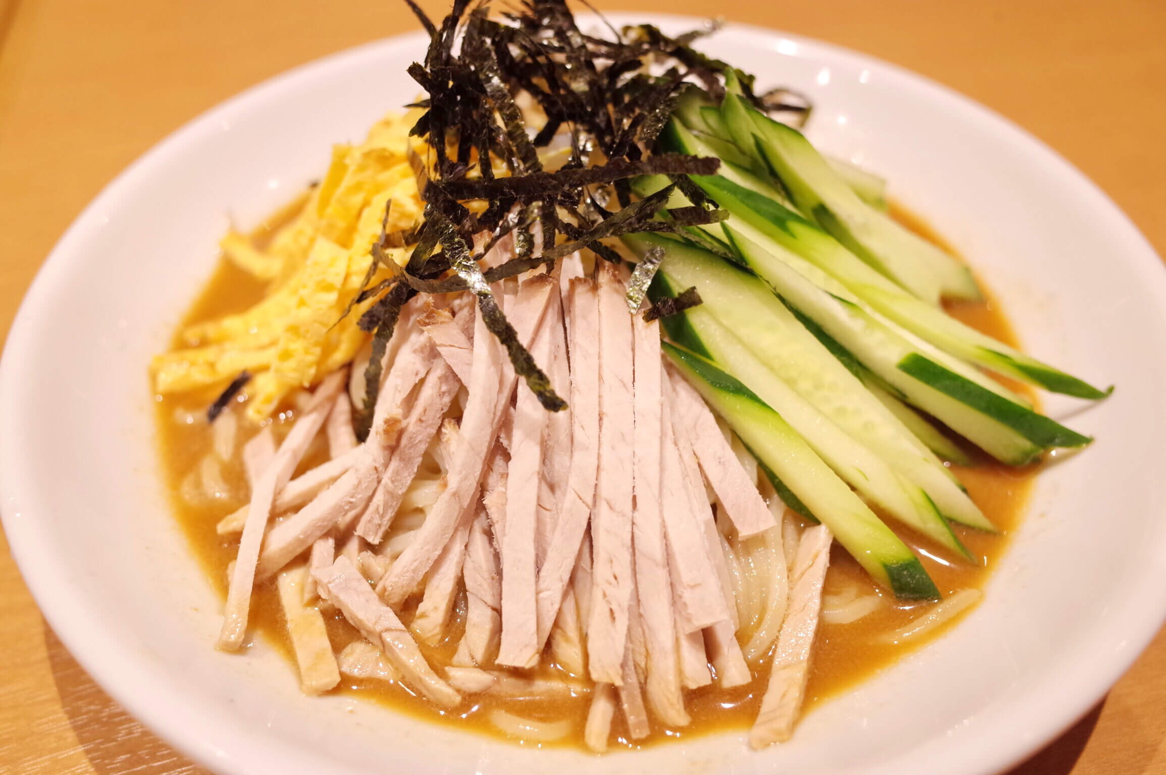 味仙 JR名古屋駅店で台湾らーめんと期間限定の冷やし中華にちょっとガッカリ