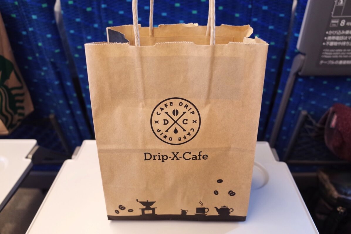 JR新大阪駅 『Drip-X-Cafe』で具材たっぷりのサンドイッチを朝食にテイクアウト