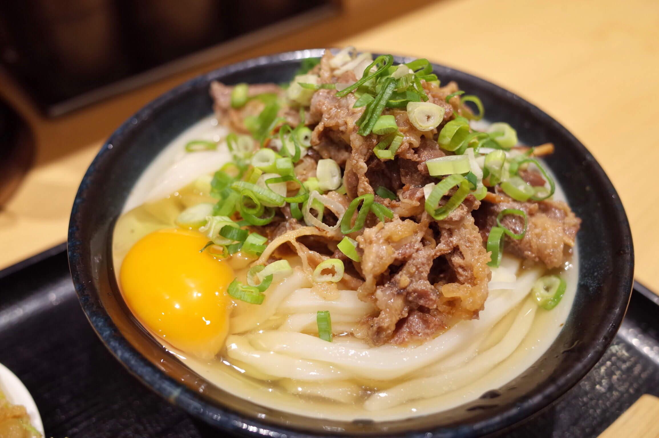 日本橋讃岐うどん ほし野 〜 コシのある麺とこだわりのいりこ出汁がお手軽価格で食べられる