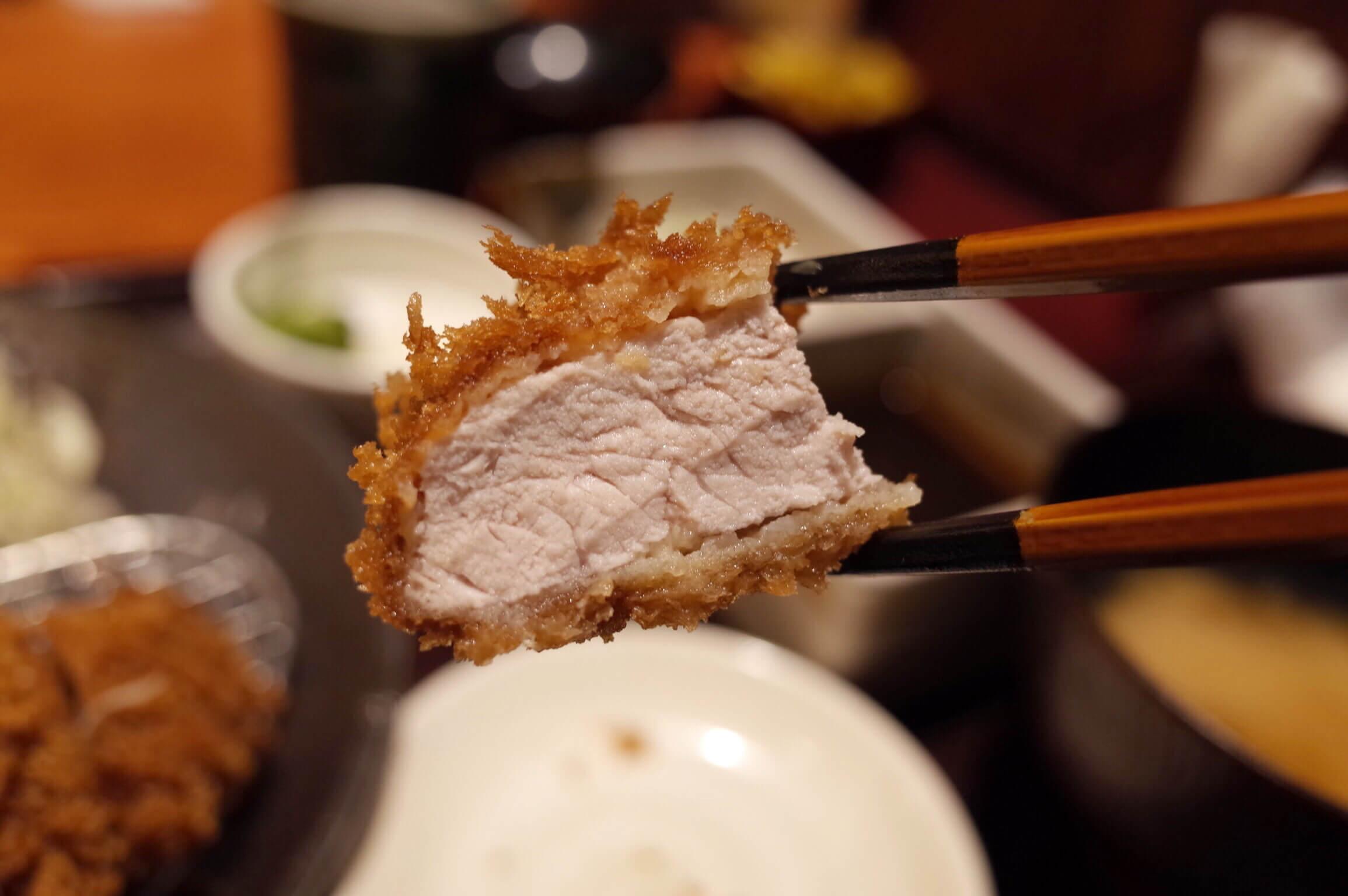 とんかつ和幸 特大ロースカツ御膳は通常の2倍のボリューム!ガッツリ食べたたいときにおすすめ