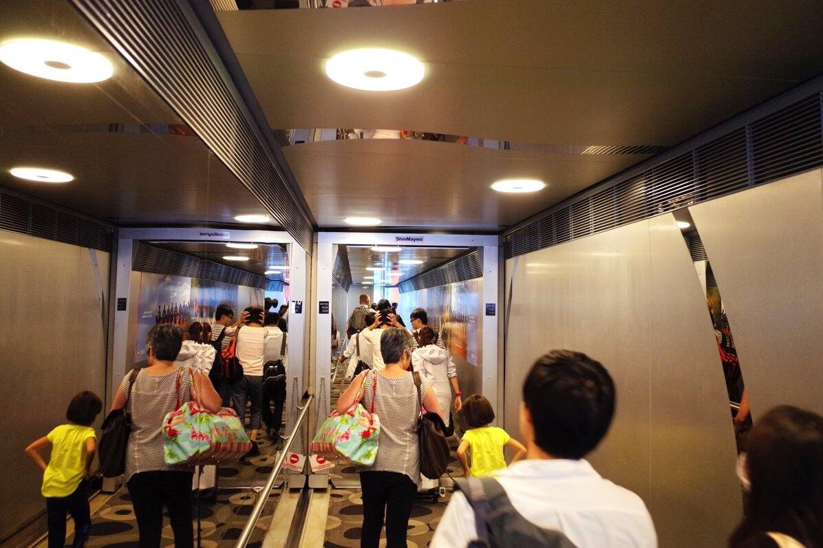 全日空NH841 羽田〜シンガポール