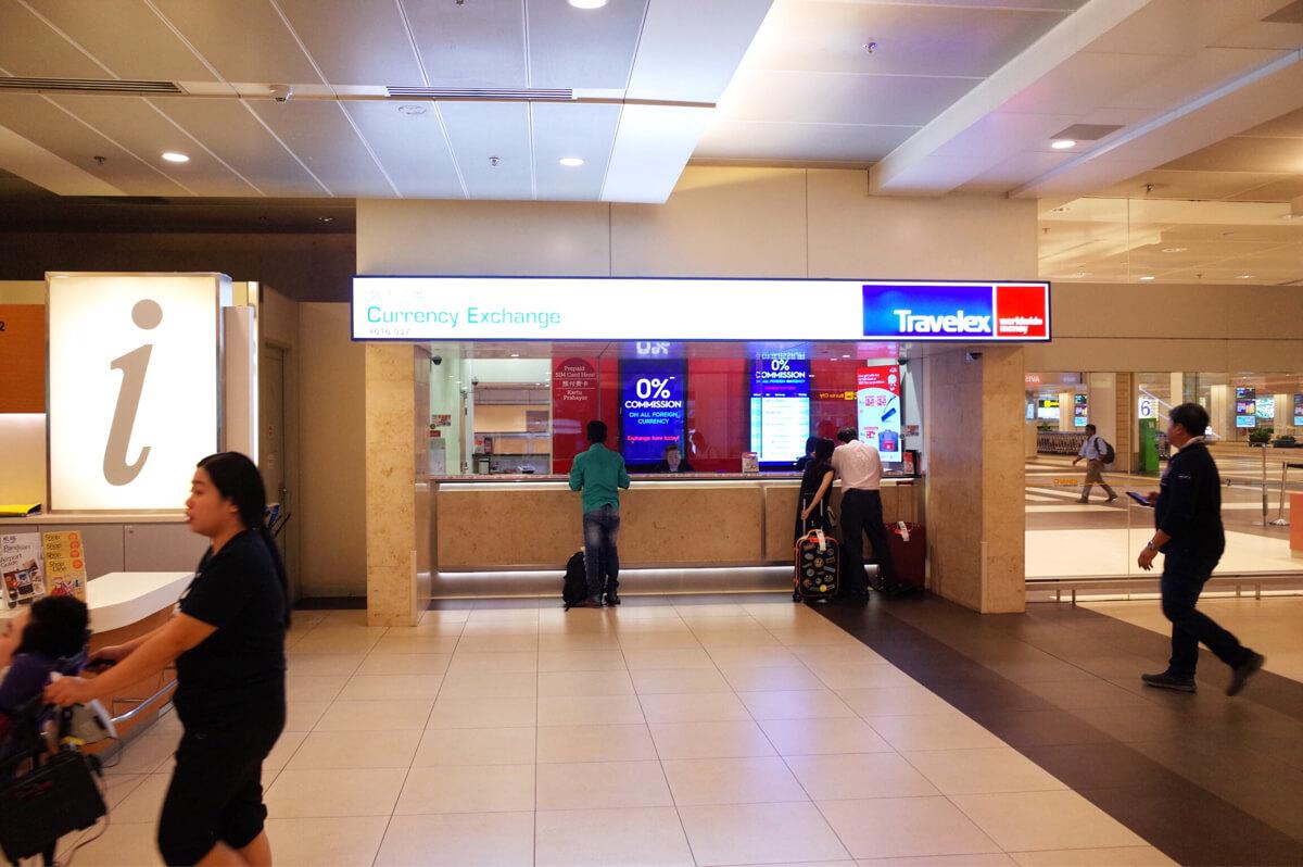 シンガポール チャンギ国際空港 SIMカード