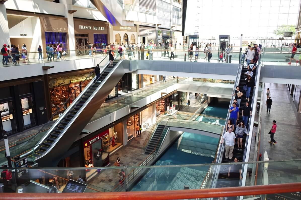 マリーナベイサンズ 〜 シンガポールで一度は行っておきたいショッピングモール!午前中は空いてておすすめ
