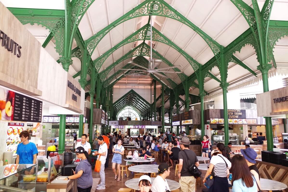 ラオ・パ・サ(Lau Pa Sat) 〜 オフィス街にあるシンガポール最大級のホーカーズ!マリーナベイサンズから近くて便利