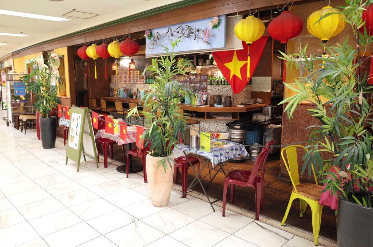 KHANHのベトナムキッチン 銀座999 外観