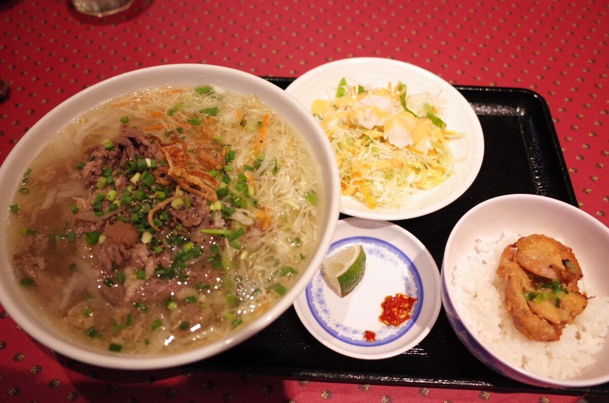 KHANHのベトナムキッチン 銀座999 ランチフォーセット