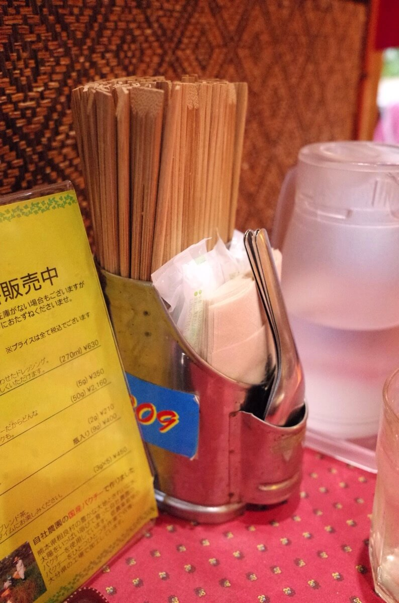 KHANHのベトナムキッチン 銀座999 ターブルセット