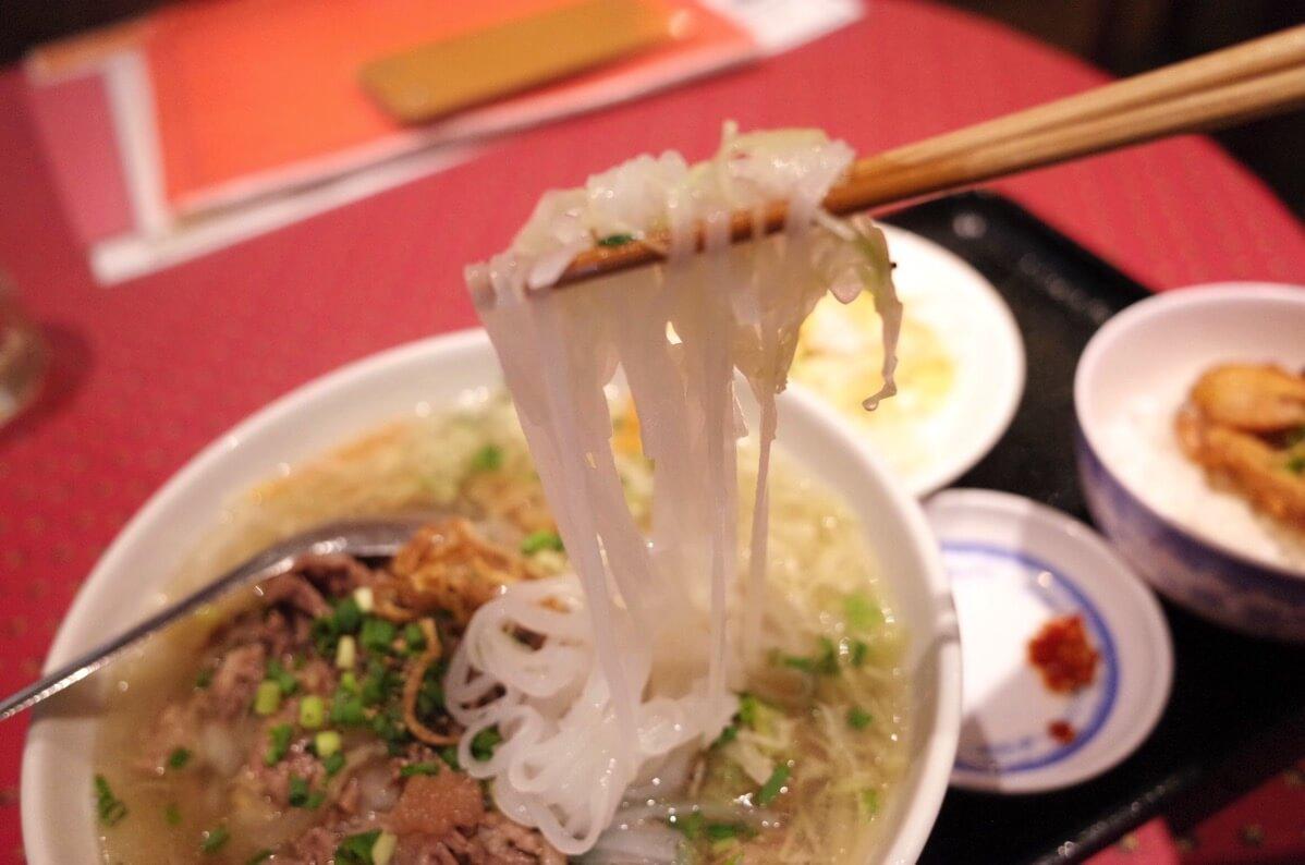 KHANHのベトナムキッチン 銀座999 フォー麺