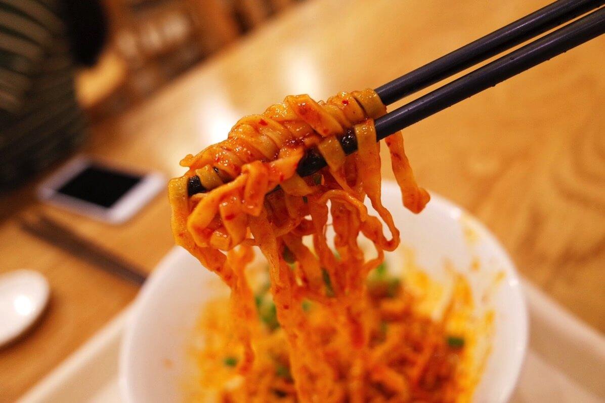 立興潮州魚圓面 フィッシュボールヌードル ドライヌードル 実食