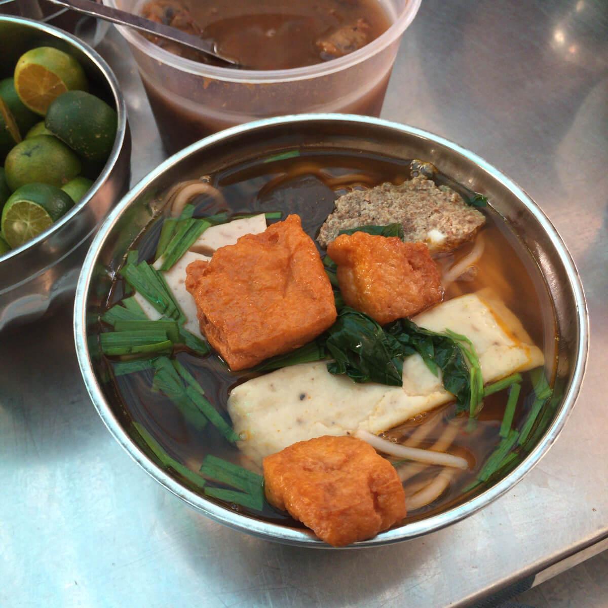 アンドンマーケット カンボジア系麺料理