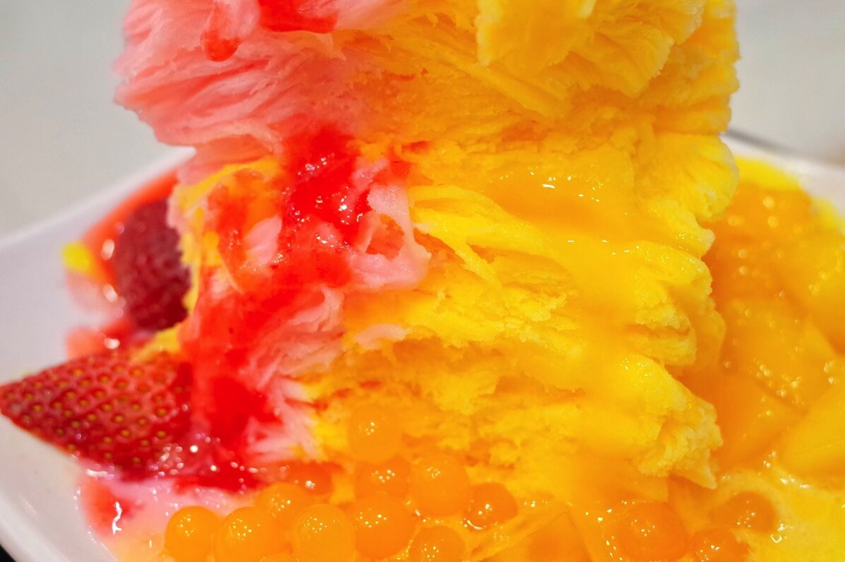 味香園甜品 かき氷 アップ