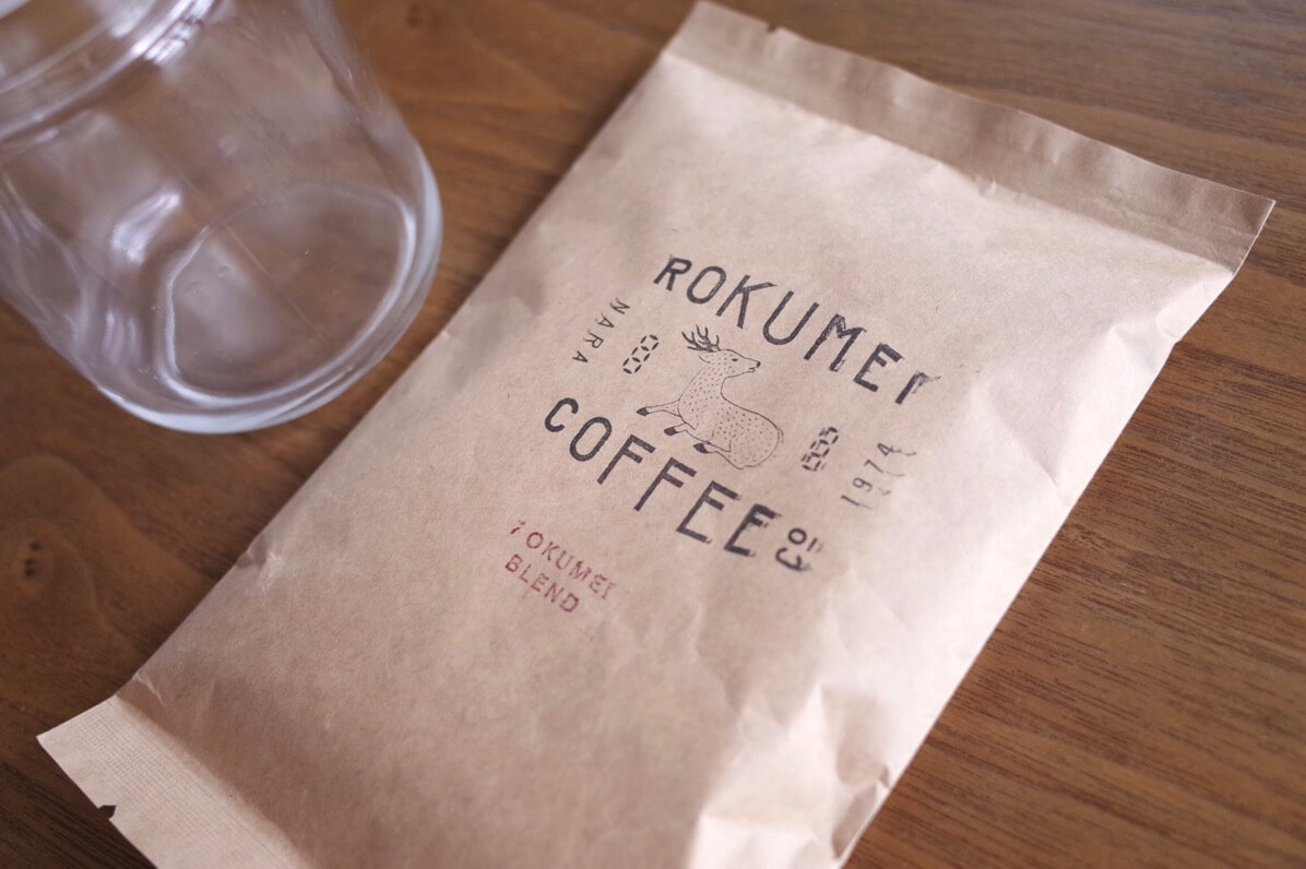 コーヒーセットのブレンドコーヒー豆