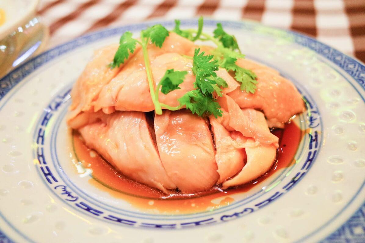 文東記の茹でチキン