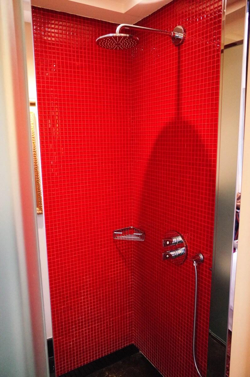 バガボンドのシャワー