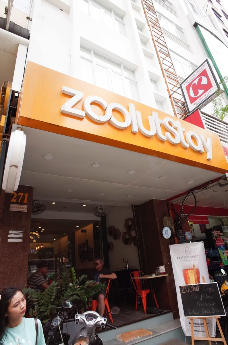 zoolut Stay 271の玄関