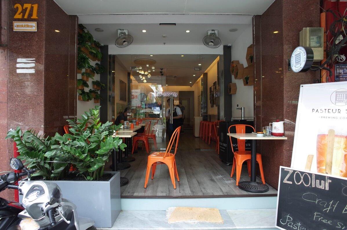 zoolut Stay 271のカフェ