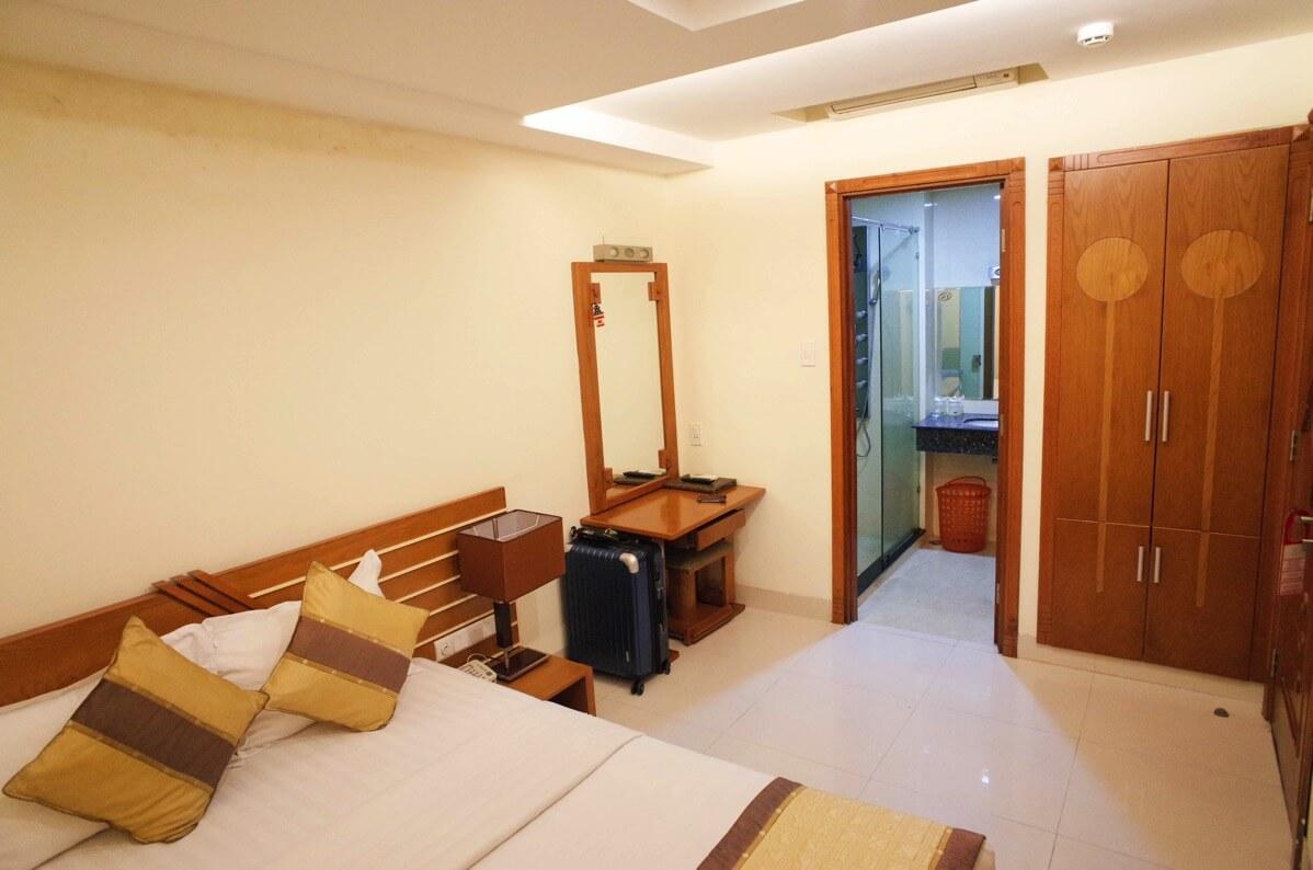 ホアン・プオン・ホテルの室内