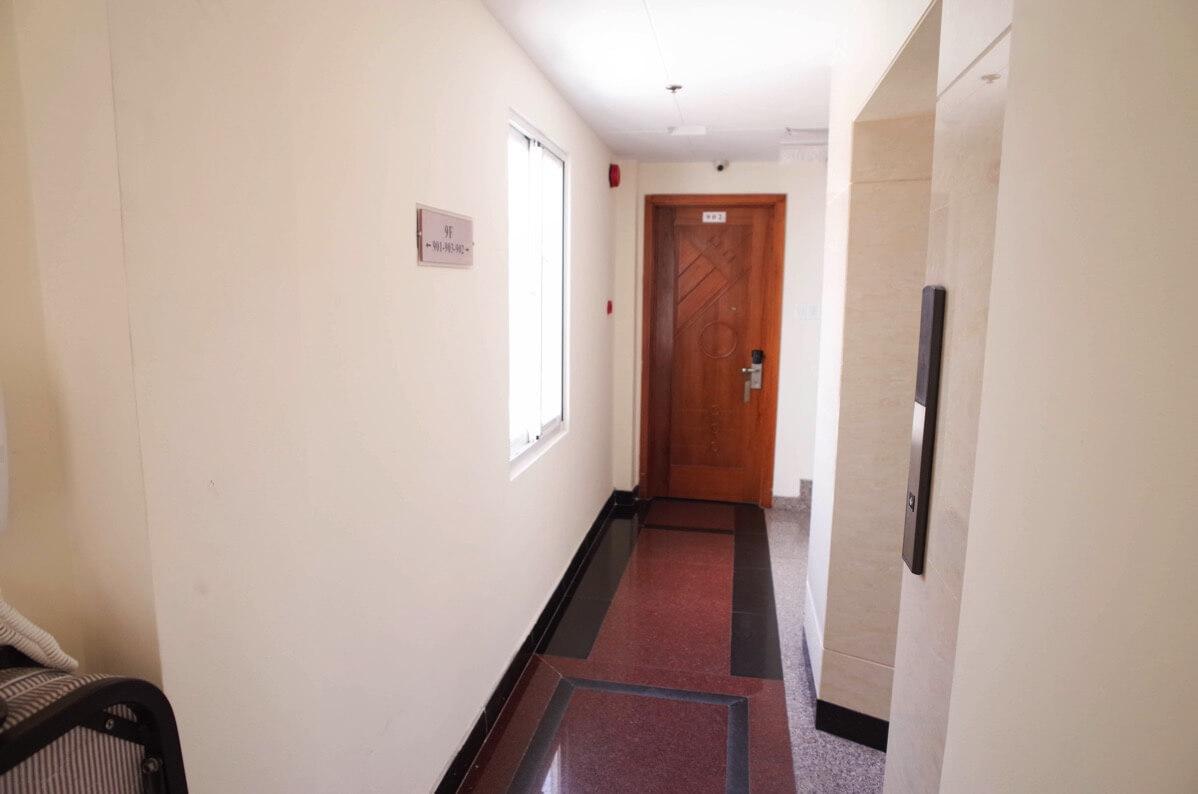 ホアン・プオン・ホテルの廊下