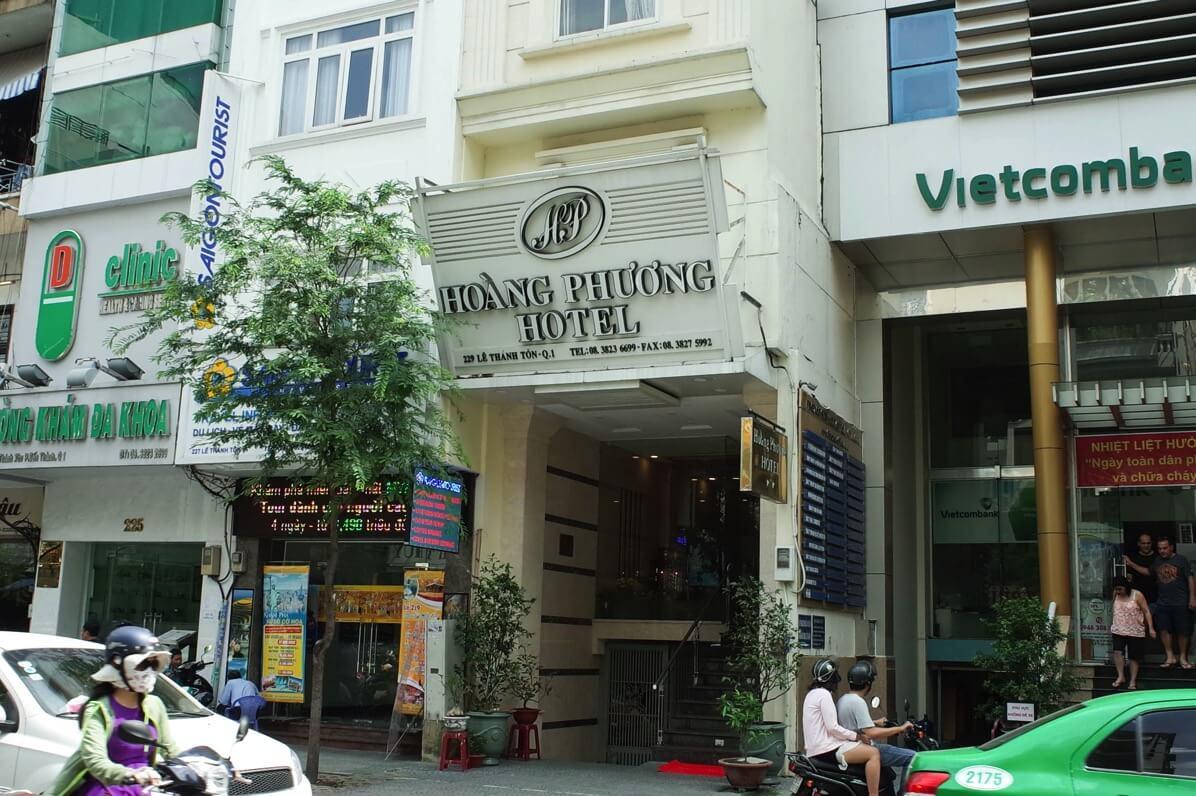 ホアン・プオン・ホテルの外観