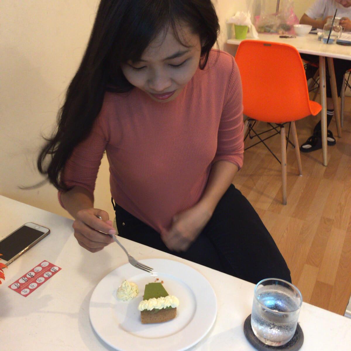 ホーチミン チーズケーキ