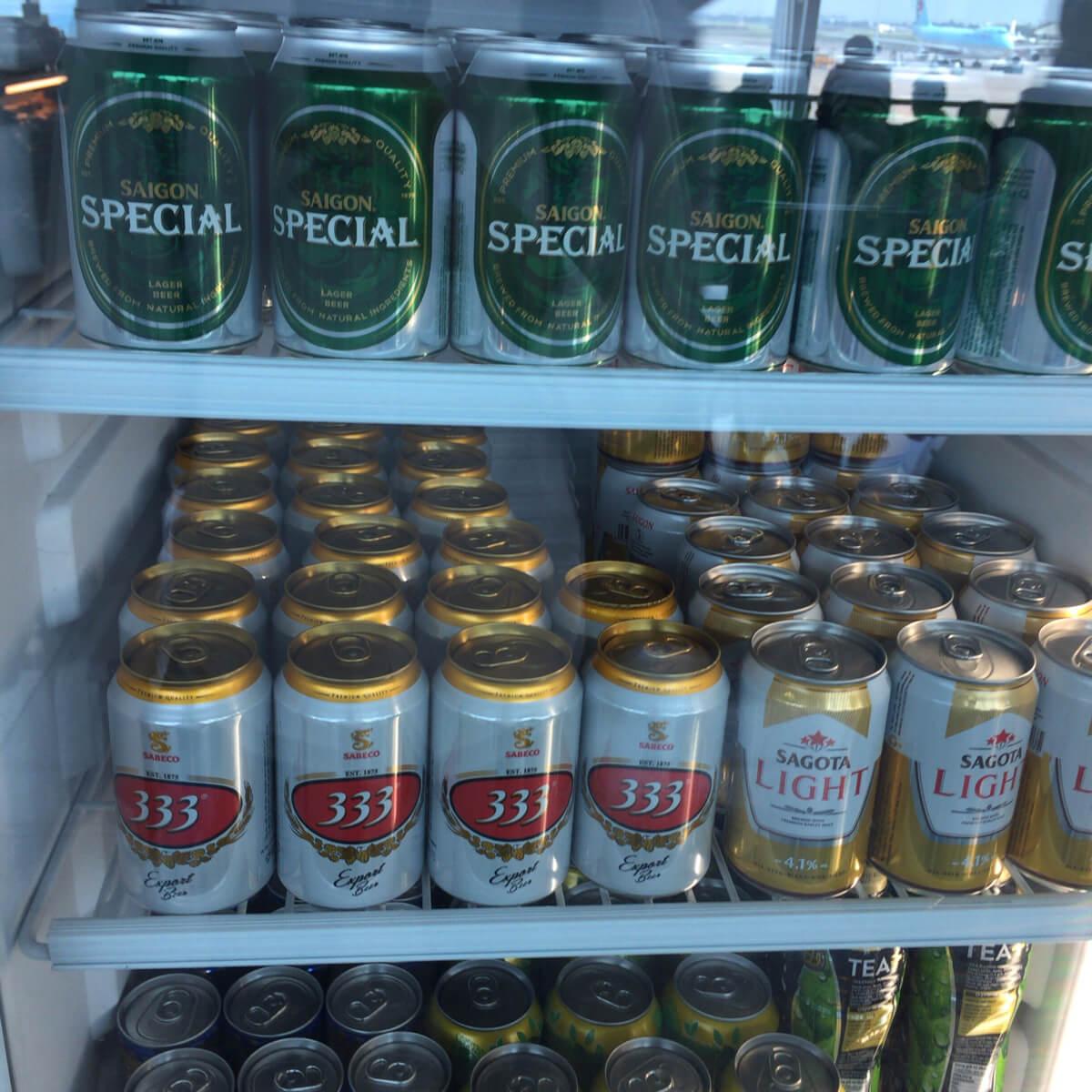 タンソンニャット国際空港 ビール