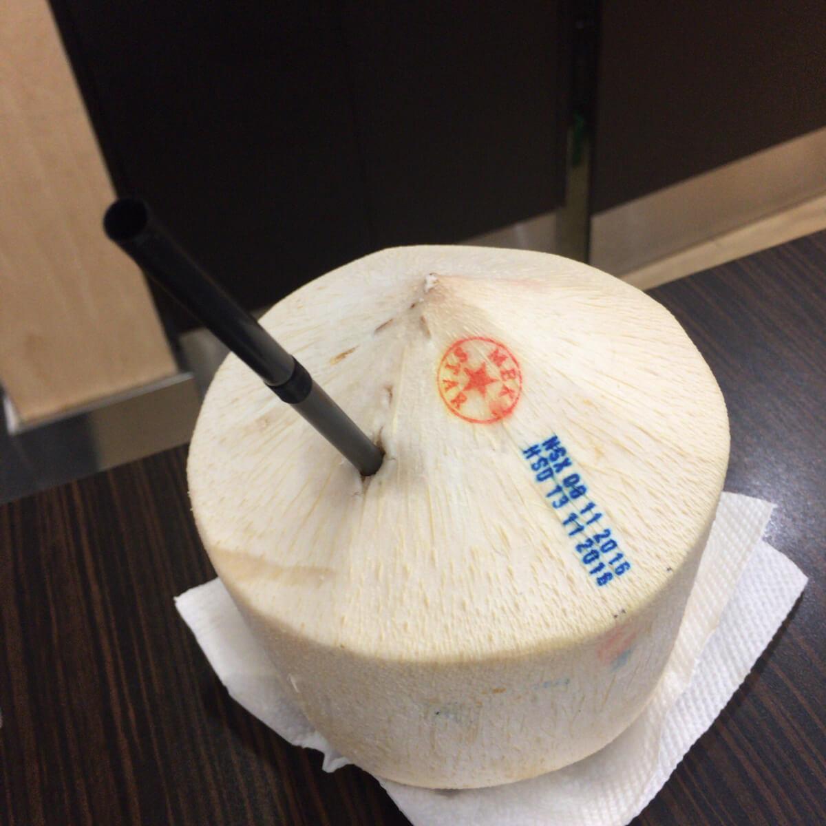 タンソンニャット空港 ココナッツ
