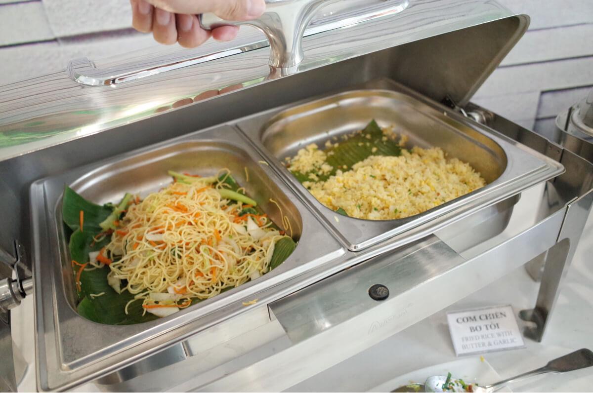 サンライズセントラルホテルのベトナム料理