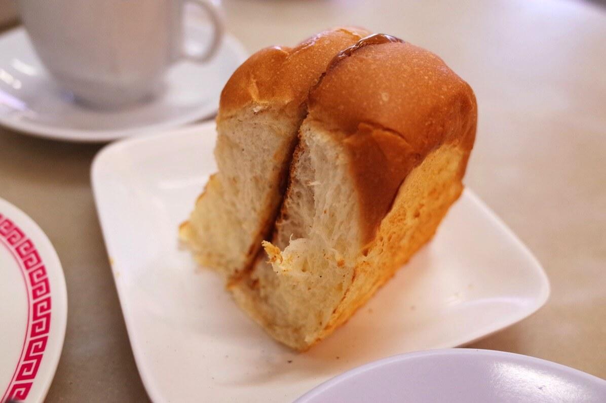 喜園咖啡店のカヤトースト