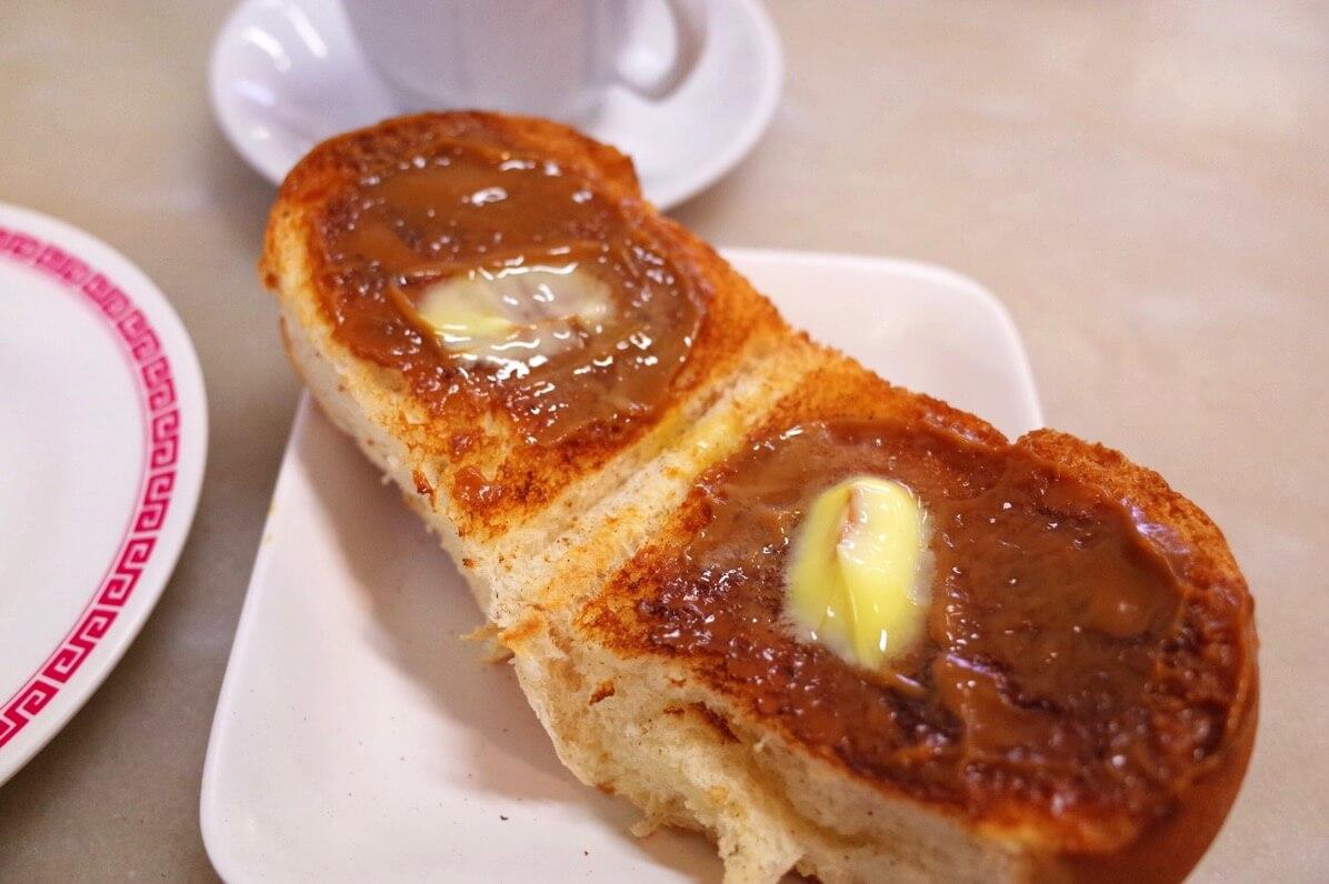 喜園咖啡店 〜 シンガポールでも珍しい厚切りのカヤトースト 朝食やおやつにオススメのカフェ