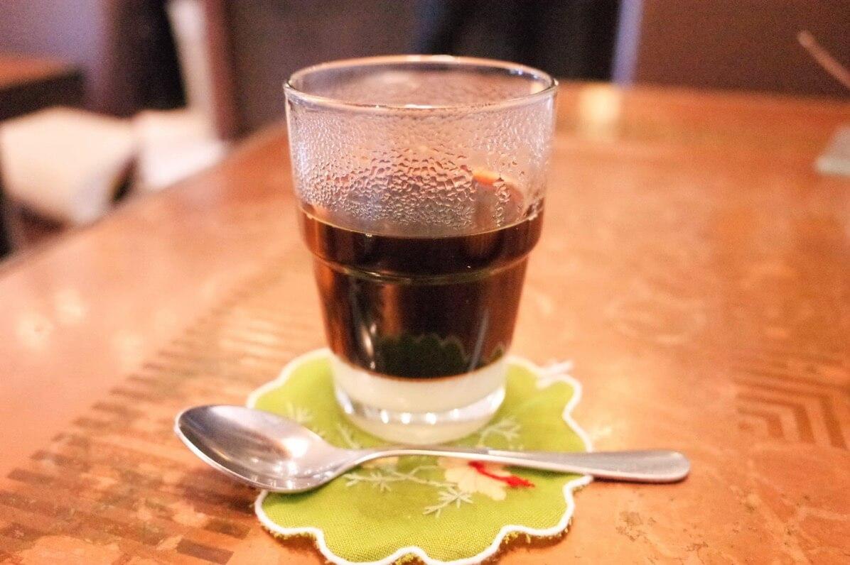 ベトナムコーヒー入れ終わり