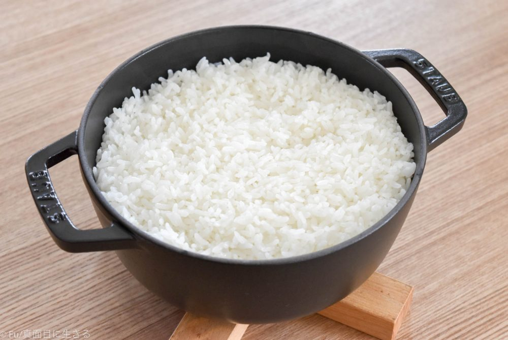 wa-nabeで3合炊飯