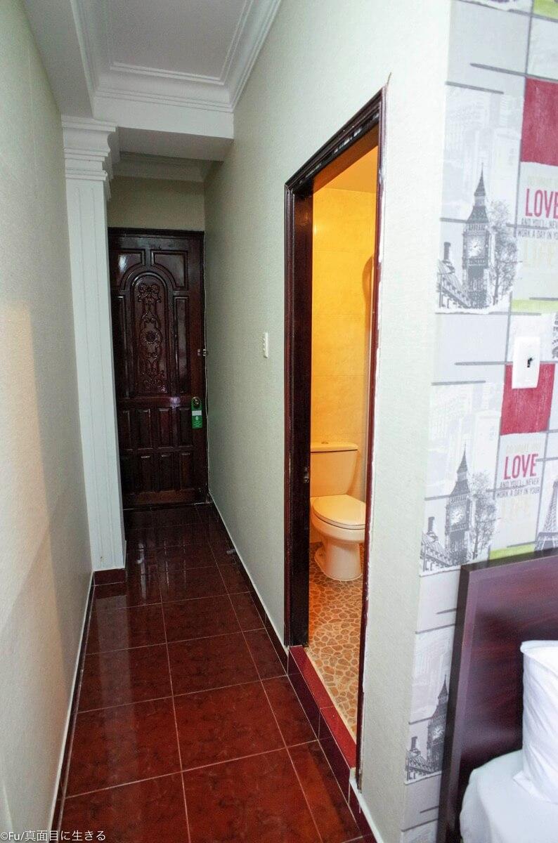洗面所の入り口