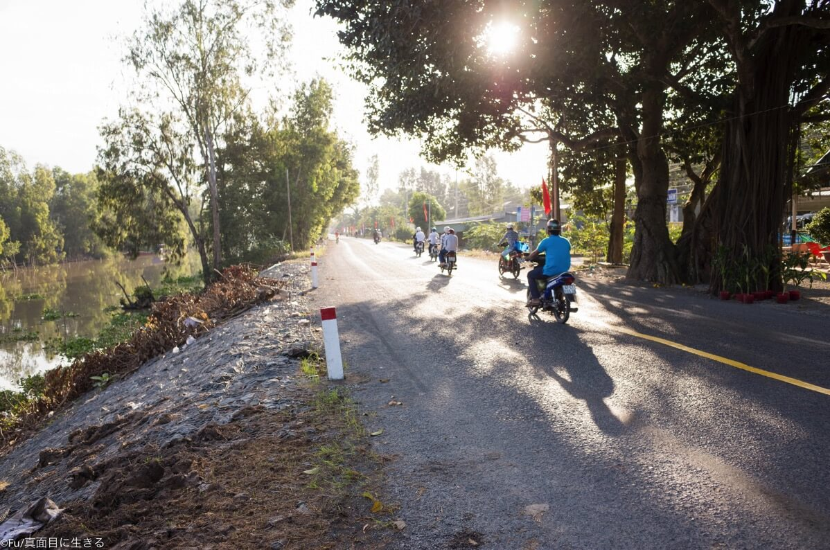 家の前の道路
