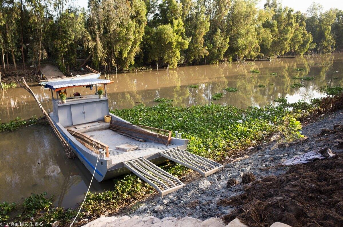 メコン川の支流