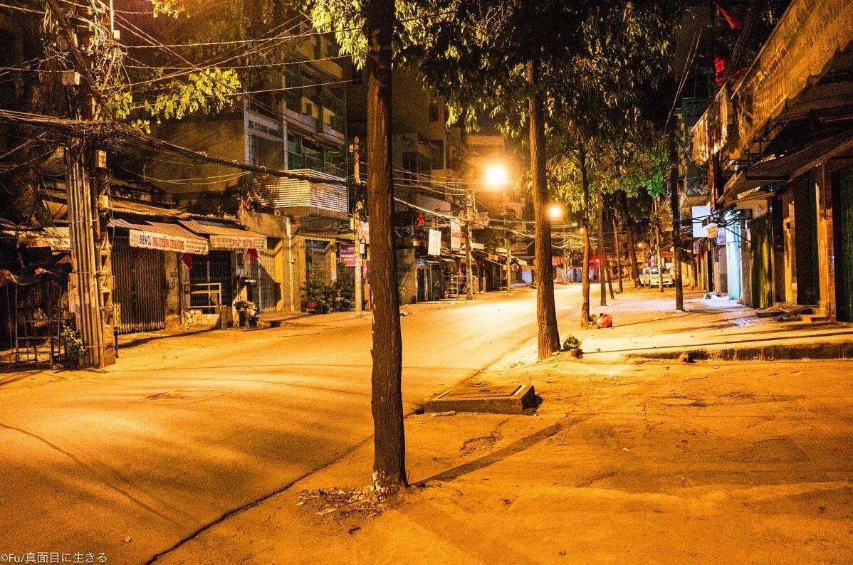 夜中のホーチミン5区