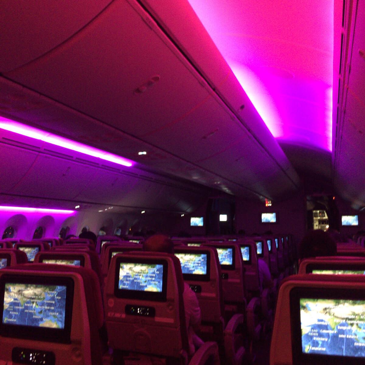 タイ航空の離陸時