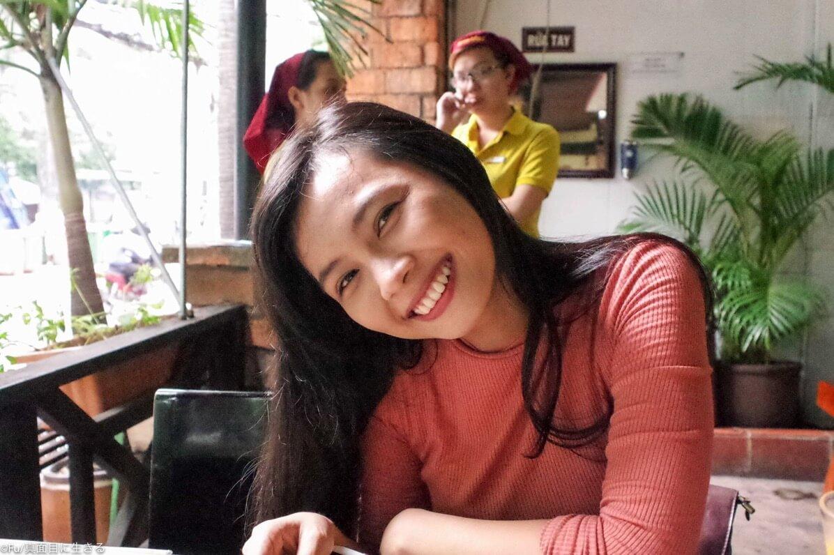 ベトナム人の彼女